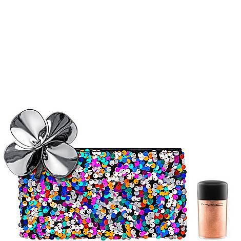 MAC Gift with Purchase : Sequin Makeup Bag + Rose Pigment, ${color}
