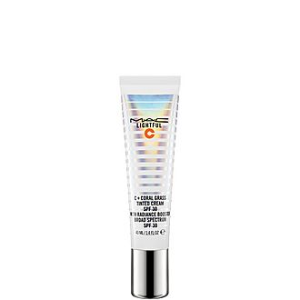Lightful C + Coral Grass Tinted Cream SPF 30 with Radiance Booster