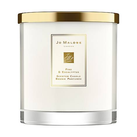 Pine & Eucalyptus Luxury Candle, ${color}