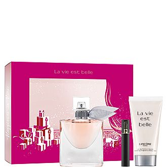Makeup & Skincare Gift Set For Her:Perfume,Mascara & Body Lotion