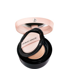 Essence-in-foundation tone-up cushion