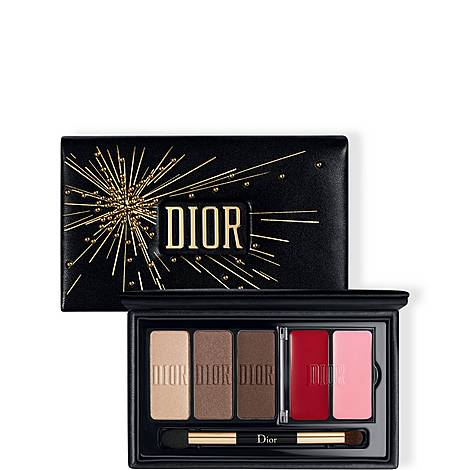 DIOR Sparkling Couture Palette - Satin Eyes & Lips Essentials, ${color}