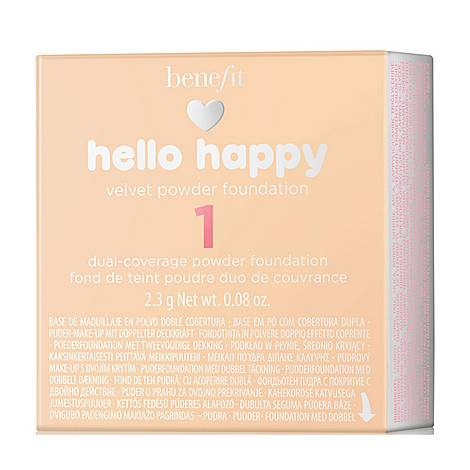 Hello Happy Velvet Powder Foundation, ${color}