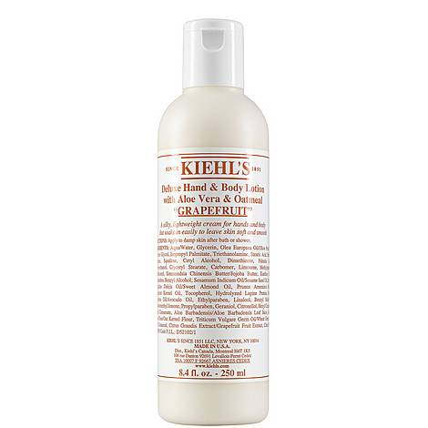 Deluxe Hand & Body Lotion with Grapefruit, ${color}