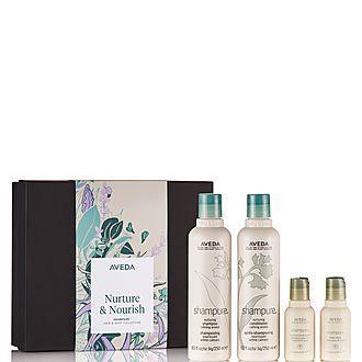 Nurture & Nourish shampure Hair & Body Collection