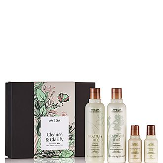 Cleanse & Clarify Rosemary mint Hair & Body Collection
