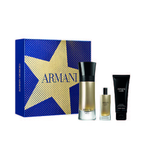 Armani Code Absolu EDP Men's Aftershave Christmas Gift Set, ${color}