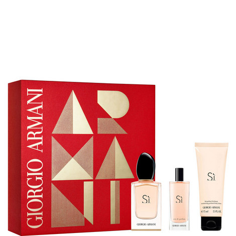 Sì Eau De Parfum Gift Set For Her, ${color}
