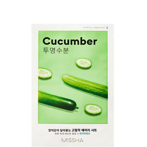 Cucumber Airy Fit Sheet Mask, ${color}