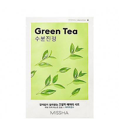 Greentea Airy Fit Sheet Mask, ${color}