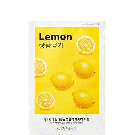 Lemon Airy Fit Sheet Mask, ${color}