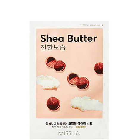 Shea Butter Airy Fit Sheet Mask, ${color}