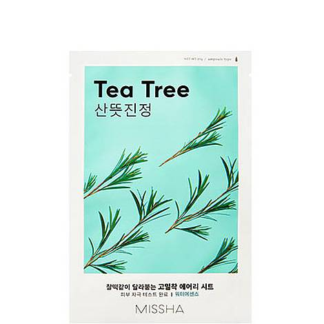 Tea Tree Airy Fit Sheet Mask, ${color}