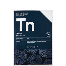 Tannin Phytochemical Skin Supplement Sheet Mask