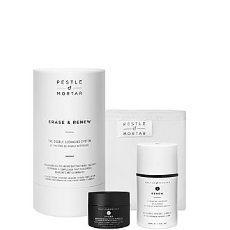 Erase & Renew Double Cleanse Set