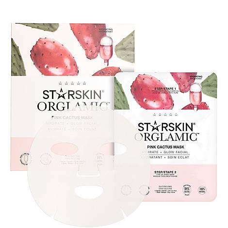 Orglamic™ Pink Cactus Mask, ${color}