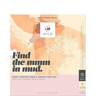 Find the Mmm in Mud. Mud Sheet Mask