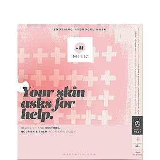 Your Skin Asks for Help. Soothing Hydrogel Mask