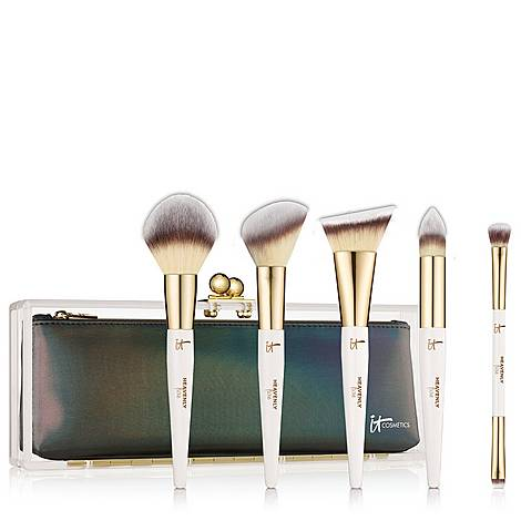 Luxe Makeup Brush Gift Set, ${color}