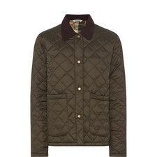 Cropped Quilted Jacket