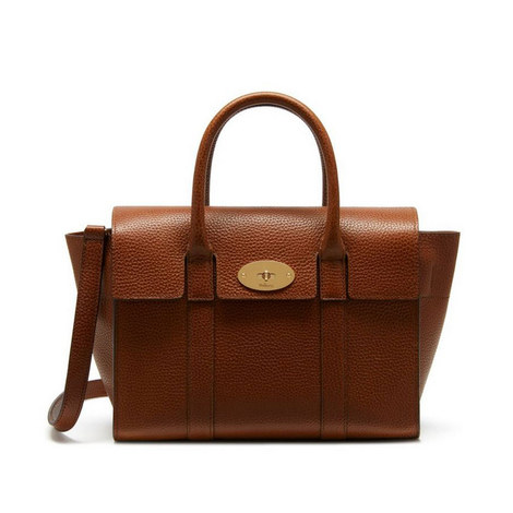 Bayswater Leather Bag Small, ${color}