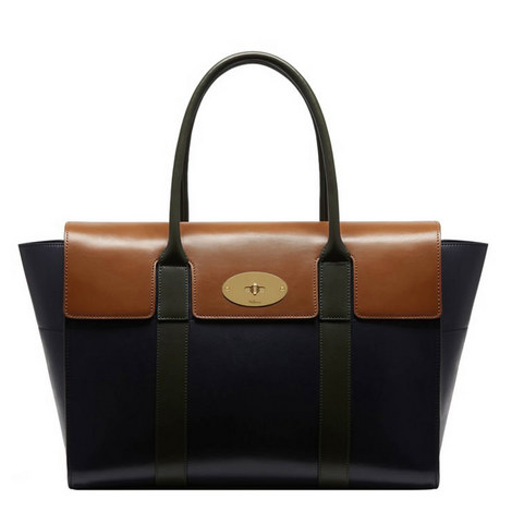 Bayswater Tonal Leather Bag, ${color}