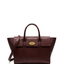 Bayswater Grained Leather Bag Medium