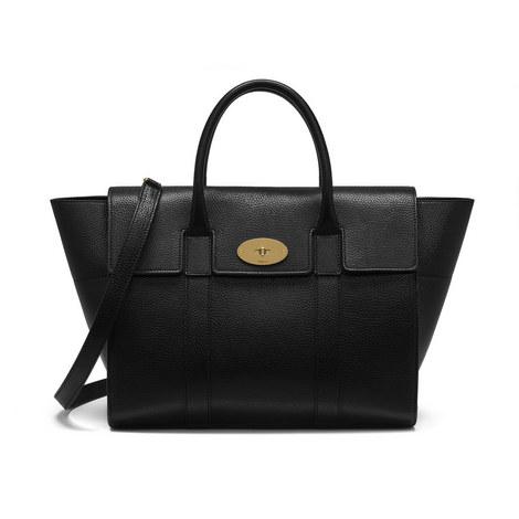 Bayswater Classic Grain Medium Shoulder Bag, ${color}