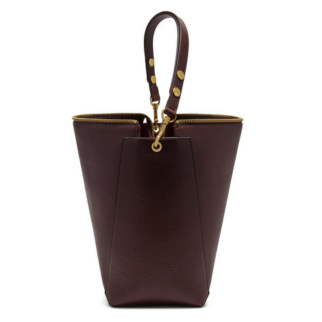 Camden Grain Leather Bag, ${color}