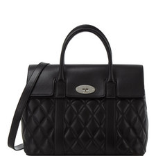 Bayswater Quilted Calfskin Bag Large