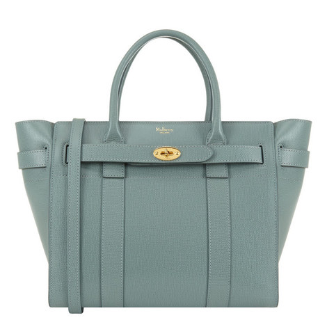 Bayswater Grained Leather Bag Small, ${color}