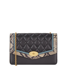 Darley Quilted Snake Trim Bag
