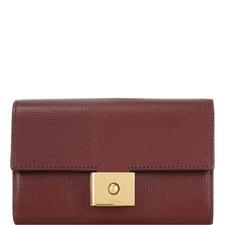 Cheyne Leather Flap Wallet Medium