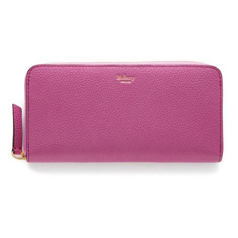 8 CC Zip Around Wallet, ${color}