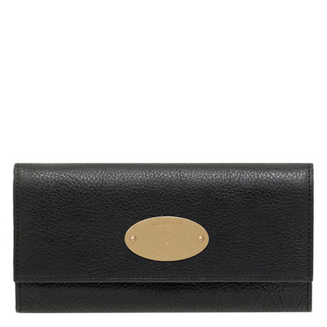 Continental Natural Leather Wallet, ${color}