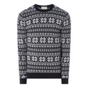Advent Festive Roll Neck Sweater, ${color}