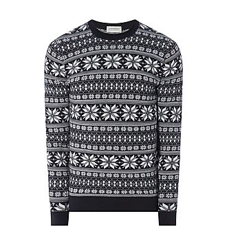 Advent Festive Roll Neck Sweater