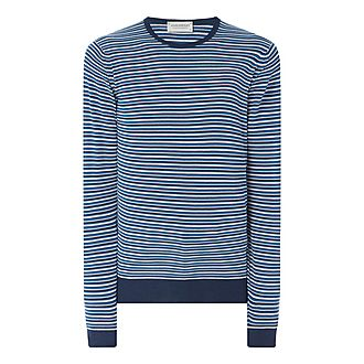 Asto Stripe Crew Neck Sweater