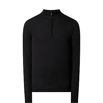 Tapton Half Zip Sweater