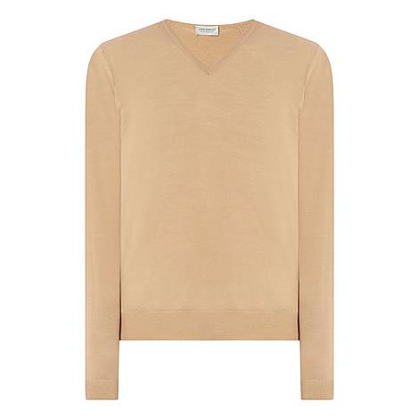 Blenheim V-Neckline Sweater, ${color}