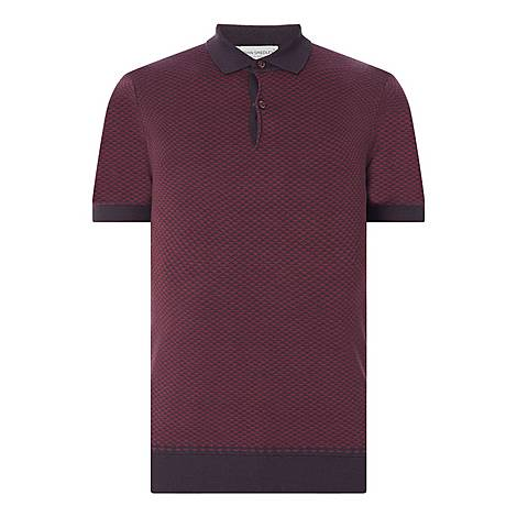 Jacquard Polo Shirt, ${color}