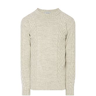 Oscar Cable Knit Sweater