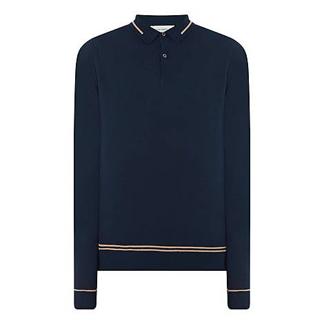Teeby Long Sleeve Polo Shirt, ${color}