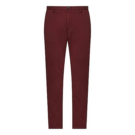 Slim Fit Rice Trousers, ${color}