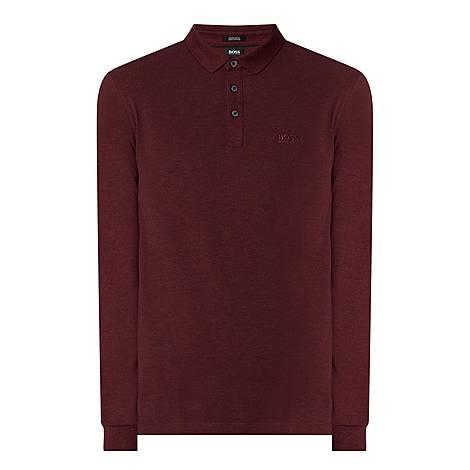 Pado 10 Long Sleeve Polo Shirt, ${color}