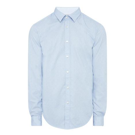 Lukas Woven Dot Shirt, ${color}
