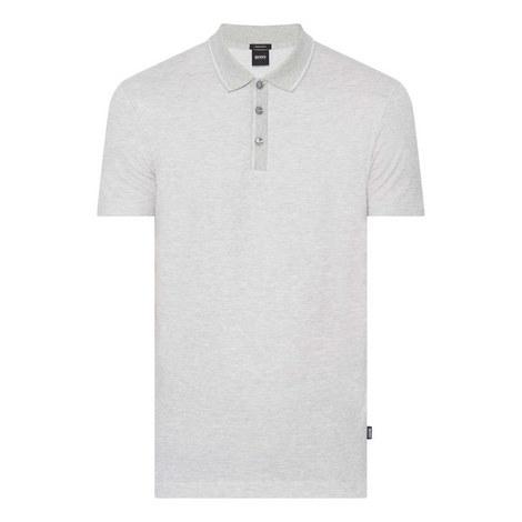Piket Stripe-Trim Polo Shirt, ${color}
