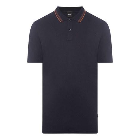 Parlay Contrast Polo Shirt, ${color}