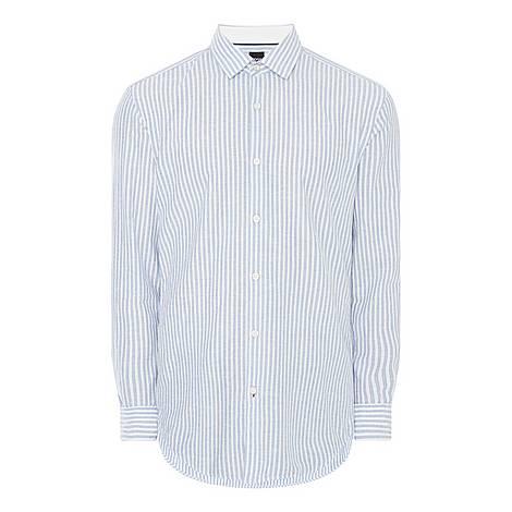 Rikki Striped Shirt, ${color}