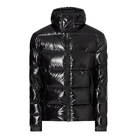 Domar Lustrous Padded Jacket, ${color}